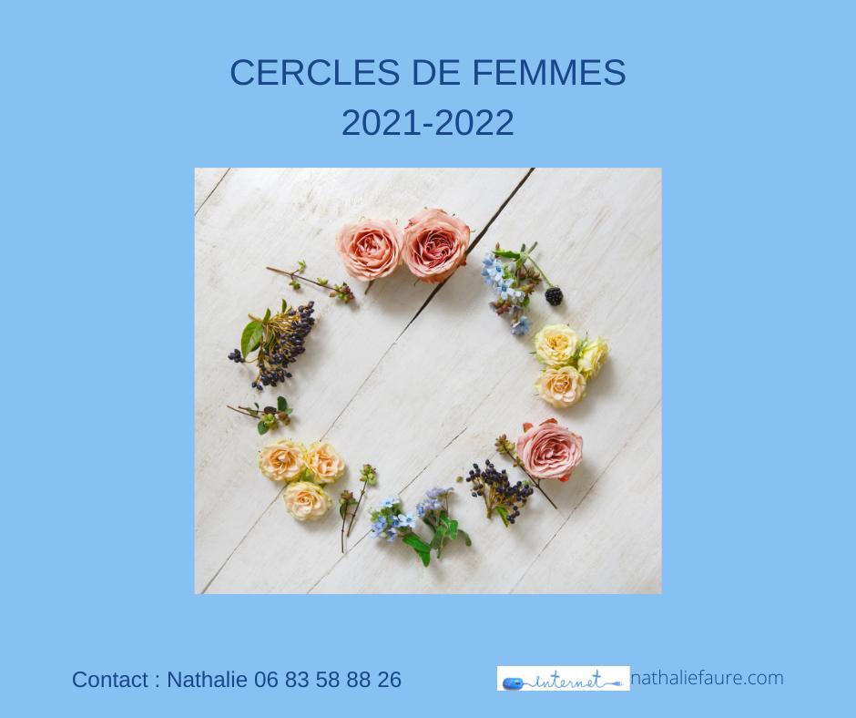 C'est bientôt la rentrée pour les cercles de femmes : voici les dates pour l'année 2021-2022